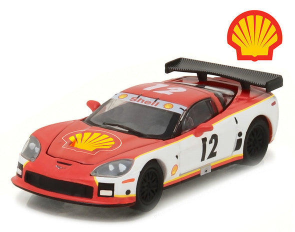2009 Chevrolet Corvette C6R Shell Oil Hobby Exclusive 1/64 Diecast - [Corvette Store Online]