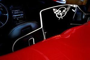 C5 Corvette Convertible Wind Restrictor Wind Screen - [Corvette Store Online]
