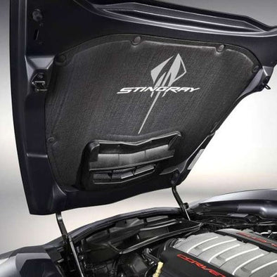 C7 Corvette Stingray | Underhood Liner | Stingray Logo - [Corvette Store Online]