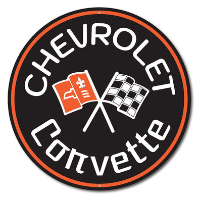 Corvette C2 Car Sign