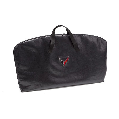 C8 Corvette 2020 Roof Panel Storage Bag With C8 Cross Flags Logo