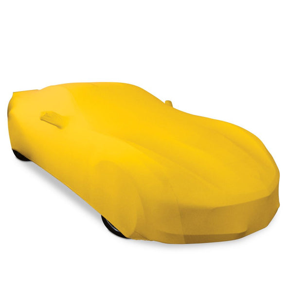 C5 Corvette Solid Color Ultraguard Stretch Satin Indoor Car Cover - [Corvette Store Online]