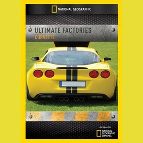 Ultimate Factories: Corvette DVD - corvettestoreonline-com