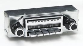1958 Corvette | Antique Automobile Radio | AM/FM | Wonderbar Stereo w/Bluetooth - [Corvette Store Online]