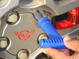 Wheel Lug Nut Cleaning/Polishing Brush - [Corvette Store Online]