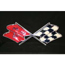 Corvette Metal Sign, 1968-1972 - [Corvette Store Online]