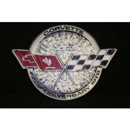 Corvette Metal Sign, 1978 - [Corvette Store Online]