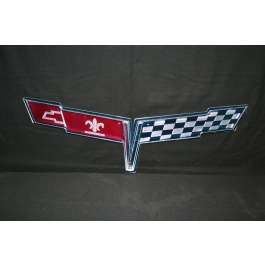 Corvette Metal Sign, 1980 - [Corvette Store Online]