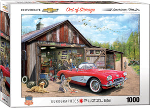 "Corvette puzzle ""Out of Storage"" - [Corvette Store Online]"