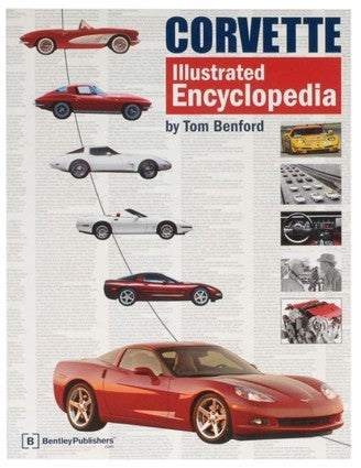 Corvette Illustrated Encyclopedia - corvettestoreonline-com