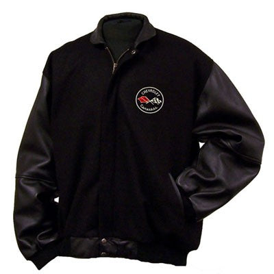 C1 Corvette Varsity Jacket / Lamb Sleeves - [Corvette Store Online]