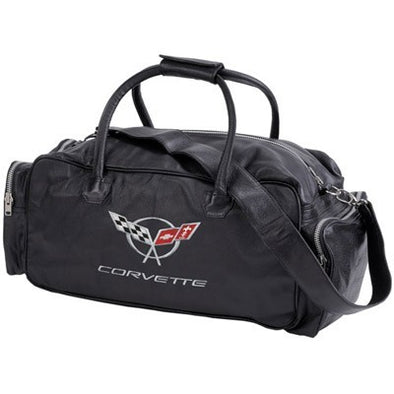 "C5 Corvette Duffle Bag 24"" Black - [Corvette Store Online]"