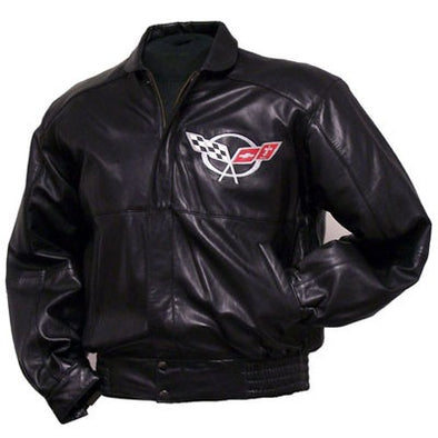 C5 Corvette Lamb Inlay Jacket - [Corvette Store Online]