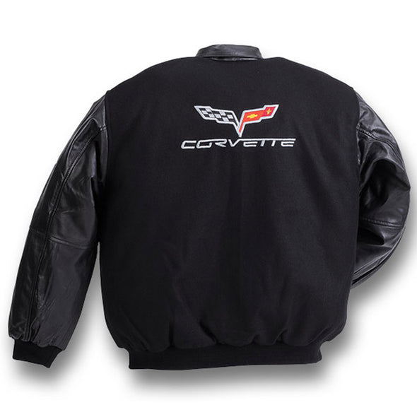 C6 Corvette Varsity with Lamb Sleeves - [Corvette Store Online]