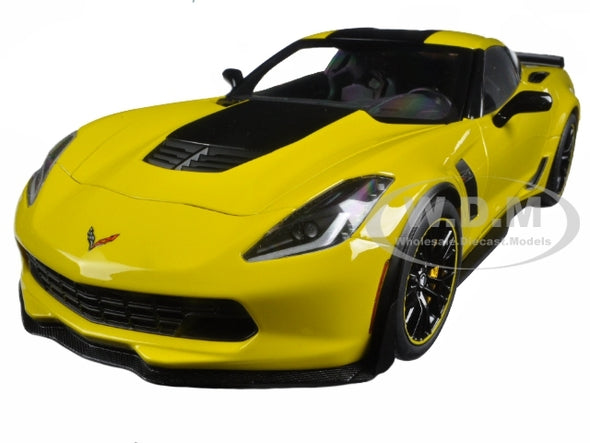 2016 Corvette C7 Z06 C7R Edition Racing Yellow 1/18 Diecast - [Corvette Store Online]