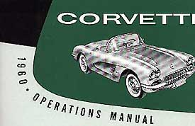 Corvette Owner's Manual 1960 - [Corvette Store Online]
