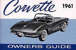 Corvette Owner's Manual 1961 - [Corvette Store Online]