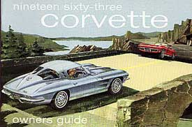 Corvette Owner's Manual 1963 - [Corvette Store Online]