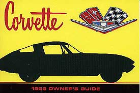 Corvette Owner's Manual 1966 - [Corvette Store Online]