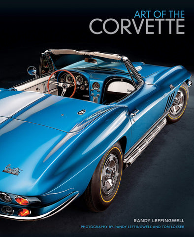 Art of the Corvette: Photographic Legacy of America's Original Sports Car Hardcover - [Corvette Store Online]
