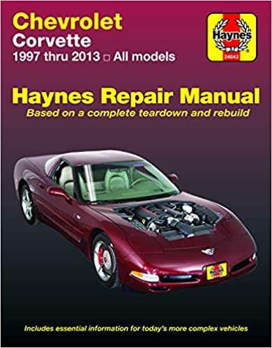 Corvette 1997-2013 Haynes Repair Manual
