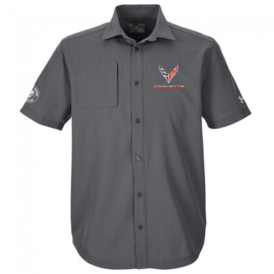 Corvette Racing C8.R Under Armour® Button-Down Shirt
