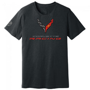 Corvette Racing C8.R Crossed Flags Tee - [Corvette Store Online]