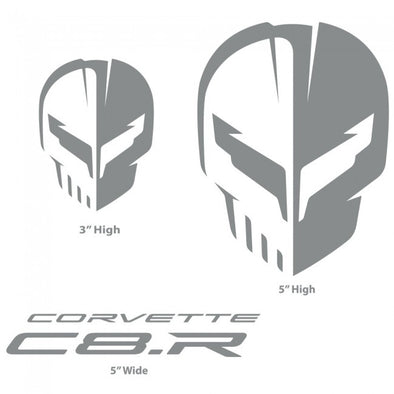 Corvette Racing C8.R Silver Decal Pack