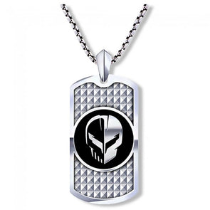 Corvette Racing C8.R Jake Dog Tag Necklace