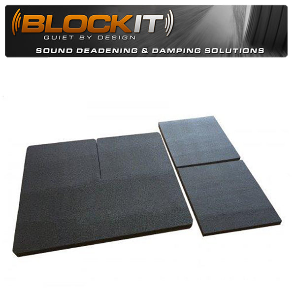 C4 Corvette Coupe Blockit Quick & Quiet Drop-In Noise Deadening Mats