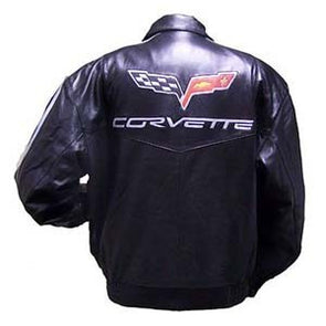 Corvette 427 Men's Leather Lamb Jacket - [Corvette Store Online]