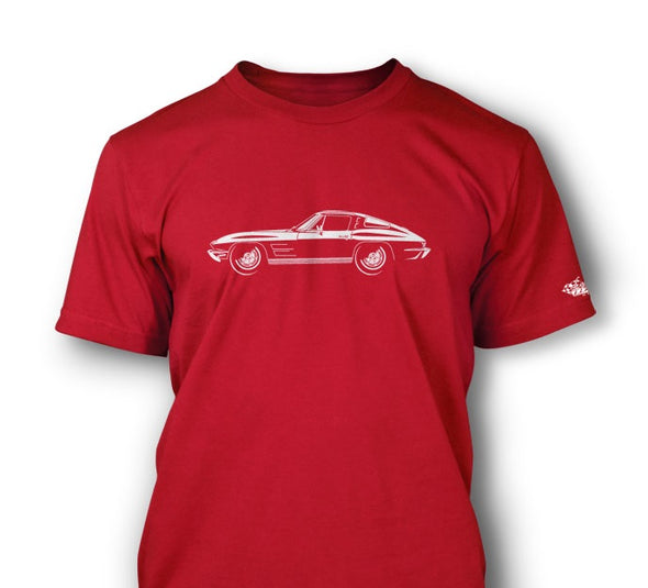 C2 Corvette 1963 Stingray Split Window T-Shirt - [Corvette Store Online]