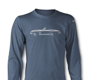 C2 Corvette 1967 Stingray 427 Convertible - Long Sleeve T-Shirt - [Corvette Store Online]