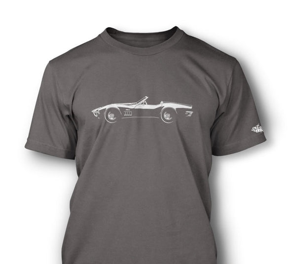 C3 Corvette 1969 Stingray Convertible T-Shirt - [Corvette Store Online]