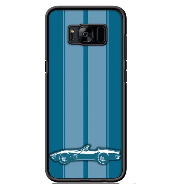 1969 C3 Corvette Stingray Convertible Smartphone Case - Racing Stripes - [Corvette Store Online]