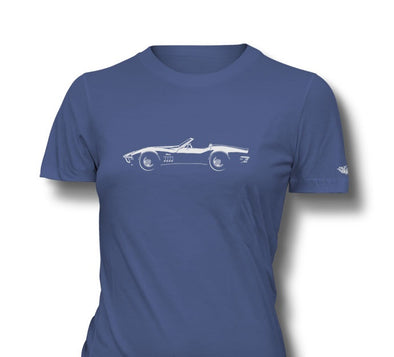 C3 Corvette 1969 Stingray Convertible T-Top Ladies T-Shirt - [Corvette Store Online]