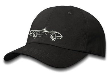 C1 Corvette 1958 Convertible Baseball Cap - Men & Ladies - [Corvette Store Online]