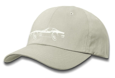 C3 Corvette 1969 Stingray Coupe T-Top Baseball Cap - Men & Ladies - [Corvette Store Online]