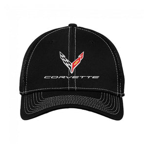 Corvette Next Generation New Era Performance Stretch-Mesh Cap - [Corvette Store Online]