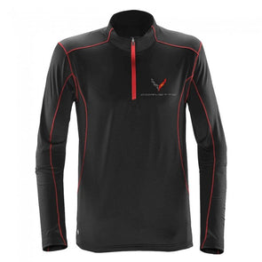 Corvette Next Generation Stingray Quarter-Zip Fleece - [Corvette Store Online]