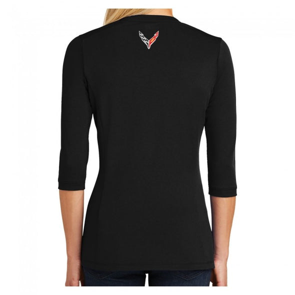 Corvette Next Generation Ladies Ogio® Henley - [Corvette Store Online]