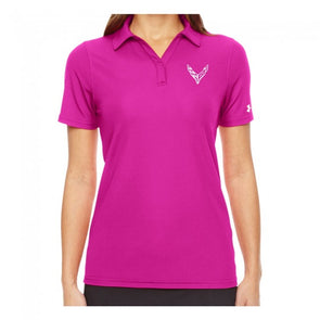 Corvette Next Generation Ladies Under Armour® Polo - [Corvette Store Online]