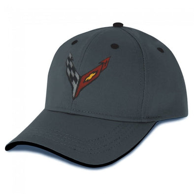 Corvette C8 Next Generation Heritage Cap-2020 - Gray