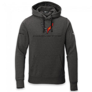 2020 C8 Corvette North Face® Hooded Pullover - Black