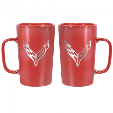 Corvette Next Generation 16 oz. Ceramic Mug - Red