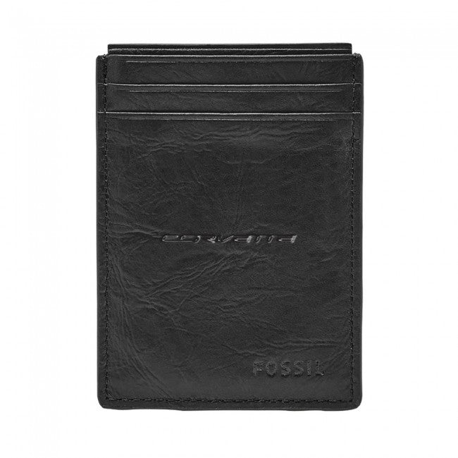 C7 Corvette Fossil Magnetic Card Case/Wallet