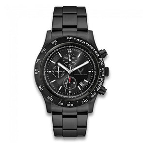 C8 Corvette 2020 Black Metal Chronograph Watch