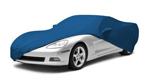 C2 Corvette Satin Stretch Indoor Car Cover - [Corvette Store Online]