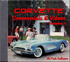 Corvette Commercials & Videos Box Set - [Corvette Store Online]