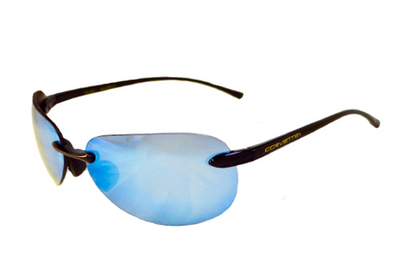 Corvette Solar Bat 1040 Black Sunglasses -Polarized or Non-Polarized - [Corvette Store Online]